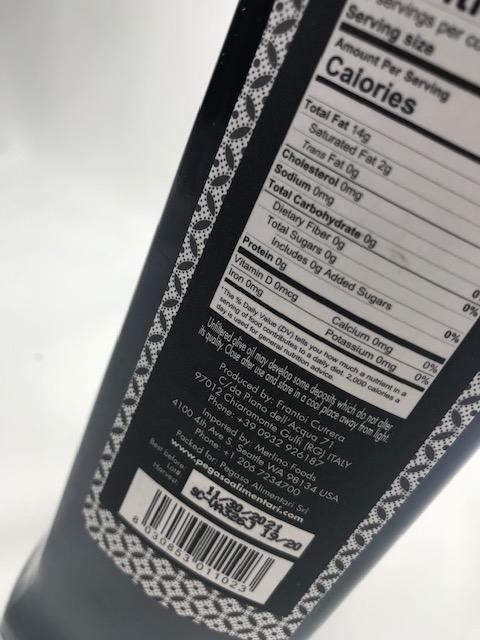 Olio Merlino Etichetta